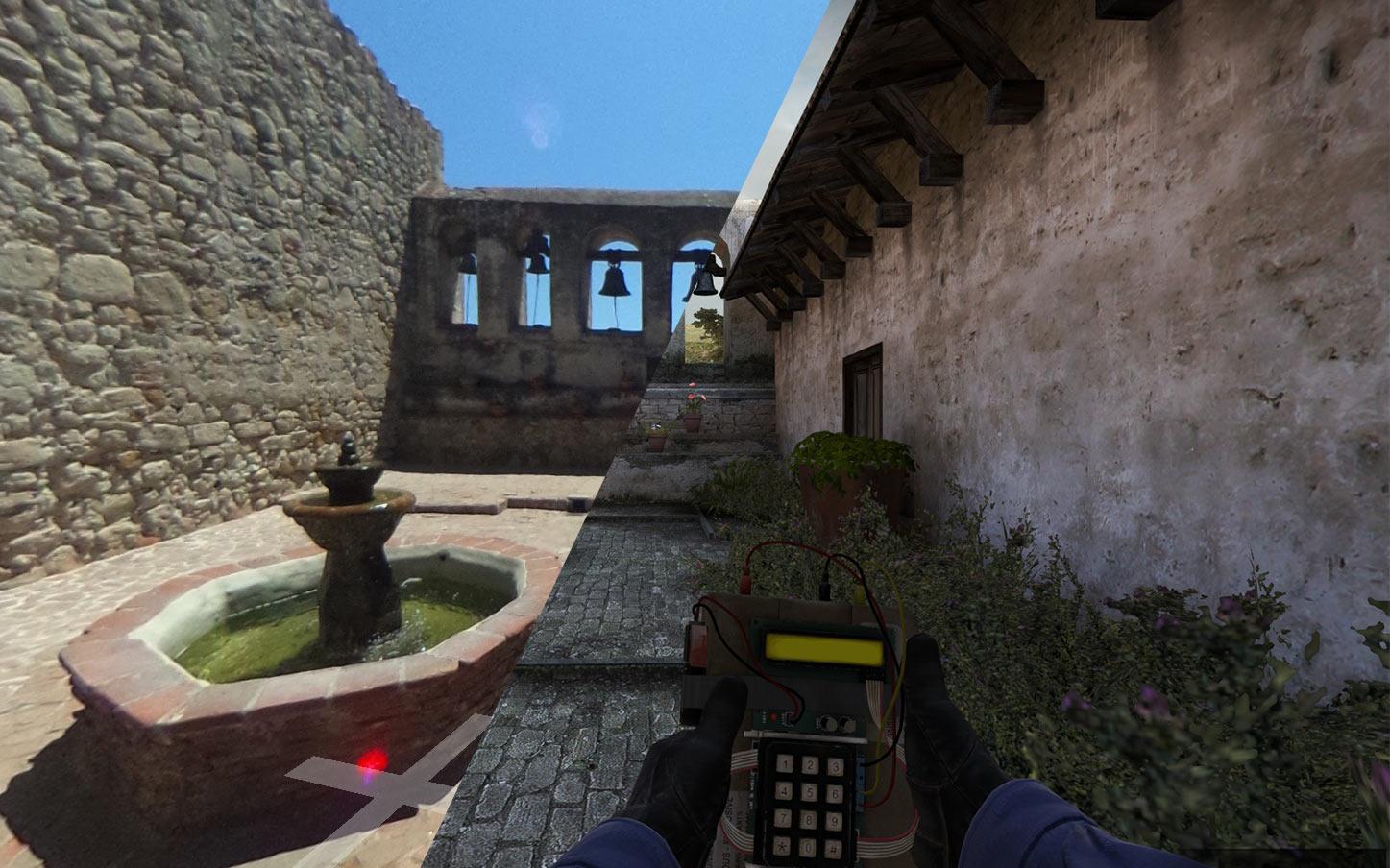 Inferno из CS:GO и его реальный референс