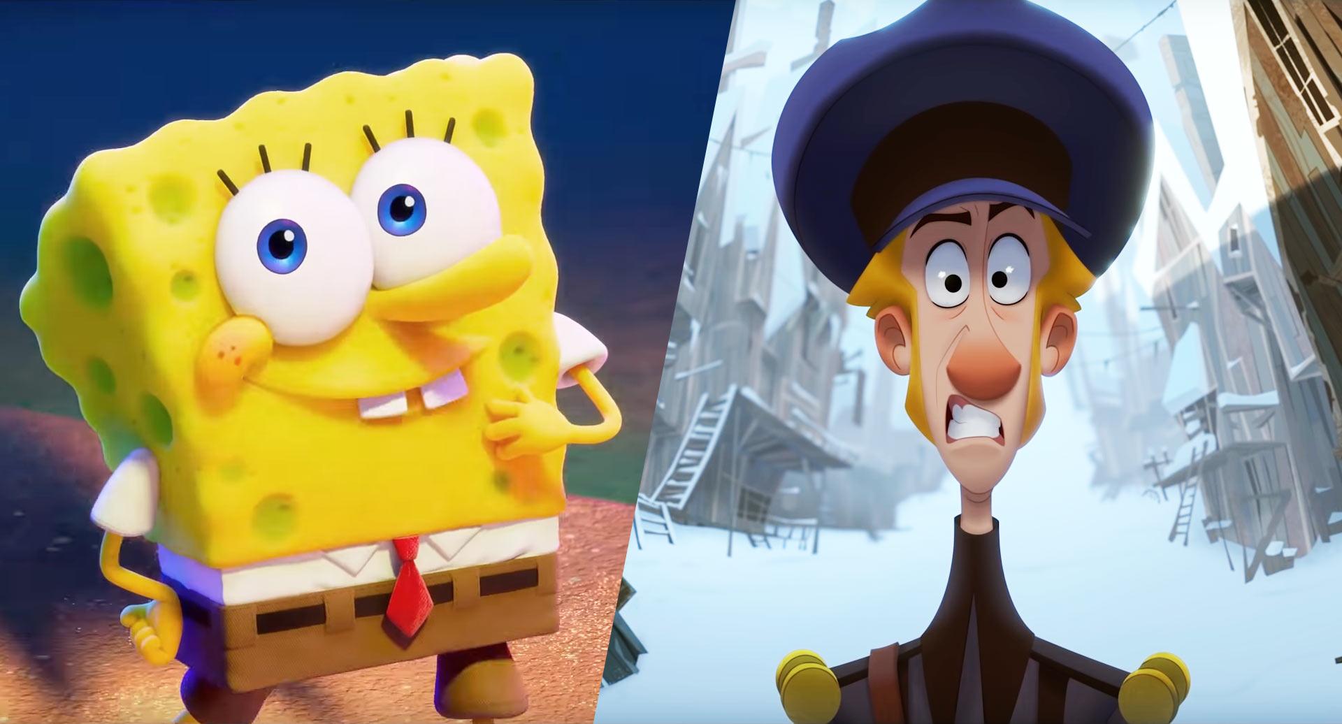 2D в 3D и наоборот: Спанч Боб и Клаус