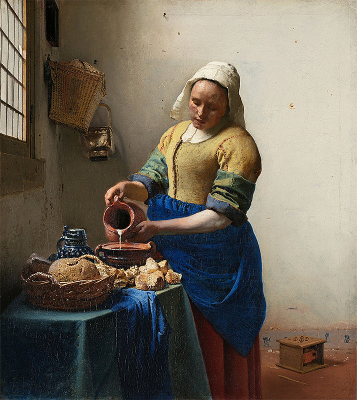 Jan Vermeer, 1657–1658, The Milkmaid