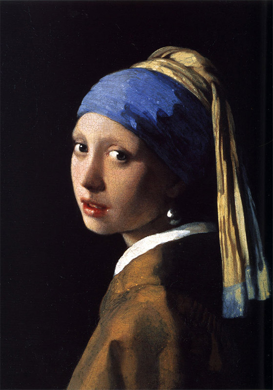 Jan Vermeer, 1665, Girl with a Pearl Earring