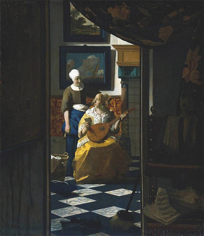 Jan Vermeer, 1666, The Love Letter