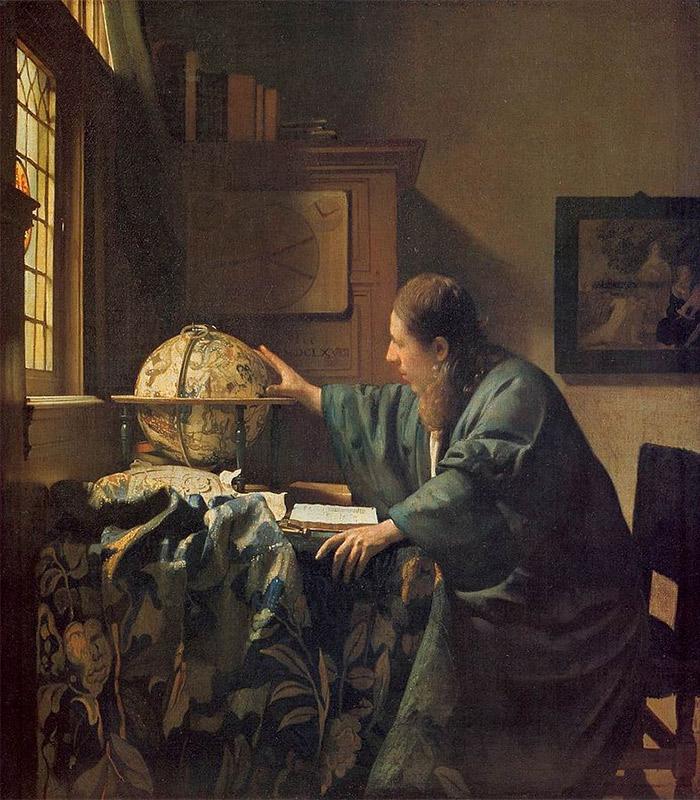 Jan Vermeer, 1668, The Astronomer