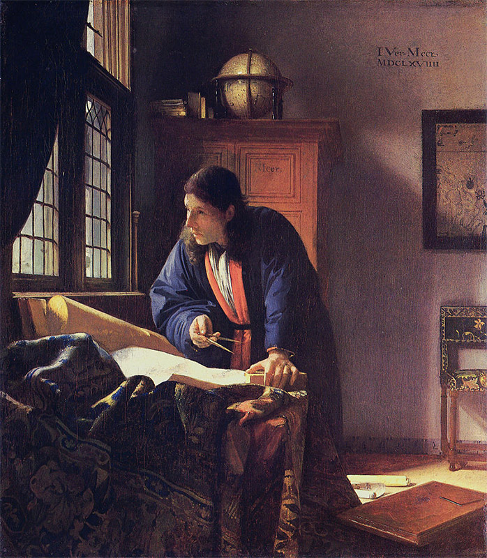 Jan Vermeer, 1668—1669, The Geographer