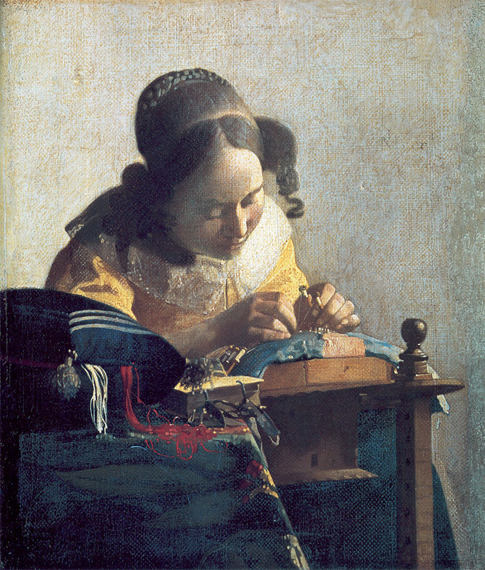 Jan Vermeer, 1669–1670, The Lacemaker